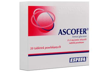ASCOFER 50 tabletek