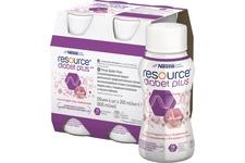 RESOURCE DIABET PLUS SMAK TRUSKAWKOWY 4x 200 ml