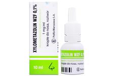 XYLOMETAZOLIN 1 mg/ml 10 ml krople