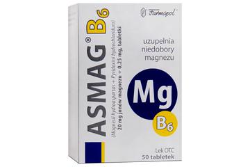 ASMAG B 50 tabletek