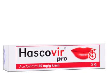 HASCOVIR PRO 5 g krem