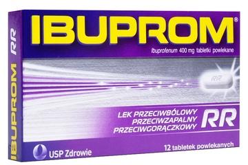 IBUPROM RR 400 mg 12 tabletek