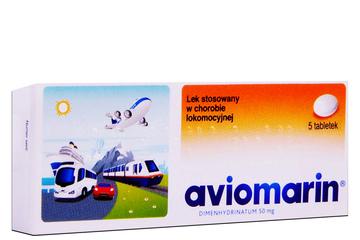 AVIOMARIN 5 tabletek