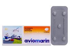 AVIOMARIN 10 tabletek