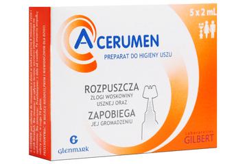 A-CERUMEN KROPLE DO USZU 5 x 2 ml