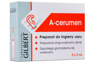 A-CERUMEN KROPLE DO USZU 5 x 2 ml krople