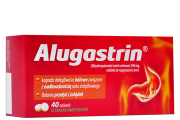 ALUGASTRIN 340 mg 40 tabletek