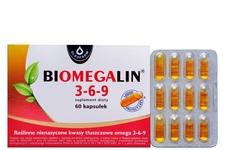 BIOMEGALIN 3-6-9 60 kapsułek