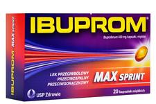 IBUPROM MAX SPRINT 400 mg 20 kapsułek