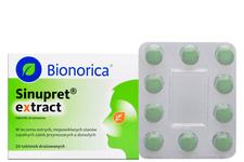 SINUPRET EXTRACT 20 tabletek