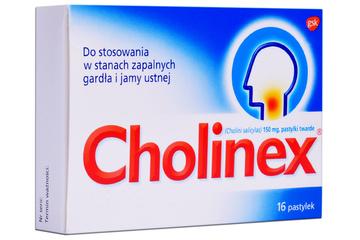 CHOLINEX 16 pastylek