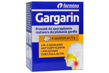 GARGARIN 6 saszetek po 5 g