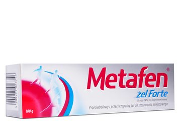 METAFEN FORTE 10 % 100 g żel