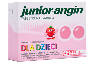 JUNIOR-ANGIN 36 tabletek do ssania