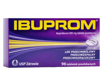 IBUPROM 200 mg 96 tabletek