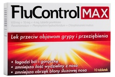FLUCONTROL MAX 10 tabletek