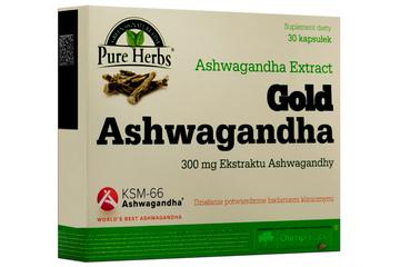 GOLD ASHWAGANDHA EXTRACT 30 kapsułek