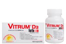 VITRUM D3 FORTE 2000 j.m. 120 kapsułek