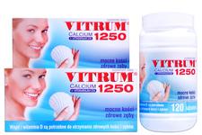 VITRUM CALCIUM 1250 120 tabletek