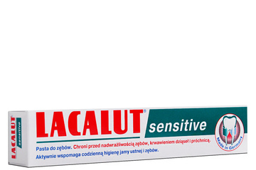 LACALUT SENSITIVE PASTA DO ZĘBÓW 75 ml