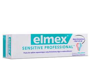 ELMEX SENSITIVE PROFESSIONAL PASTA DO ZĘBÓW 75 ml