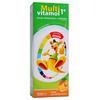 MULTIVITAMOL 1+ SMAK POMARAŃCZOWY 500 ml syrop