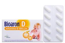 BIOARON D 400 30 kapsułek