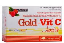 GOLD-VIT C JUNIOR 15 saszetek smak malinowy