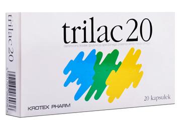 TRILAC 20 20 kapsułek