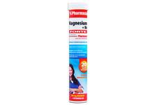 MAGNESIUM + B6 FORTE 20 tabletek musujących