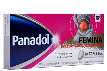 PANADOL FEMINA 10 tabletek