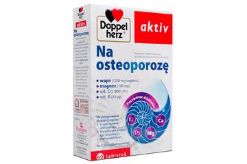 DOPPELHERZ AKTIV NA OSTEOPOROZĘ 60 tabletek