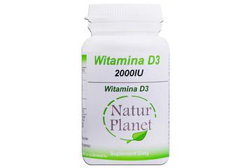 WITAMINA D3 2000UI 120 tabletek
