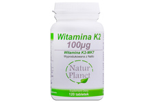 WITAMINA K2-MK7 120 tabletek