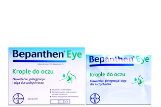 BEPANTHEN EYE 20 minimisów po 0,5 ml