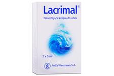 LACRIMAL 2 x 5 ml krople