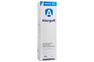 ALLERGOFF NEUTRALIZATOR ALERGENÓW 300 ml spray