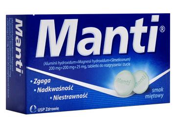 MANTI SMAK MIĘTOWY 8 tabletek
