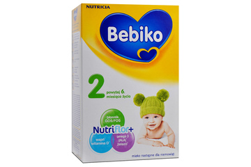 BEBIKO 2 NUTRIFLOR+ MLEKO NASTĘPNE 350 g