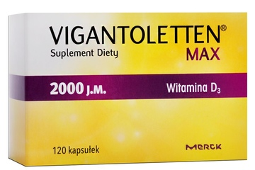 VIGANTOLETTEN MAX 2000 j.m. 120 kapsułek