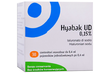 HYABAK UD 0,15 % 30 minimsów po 0,4 ml