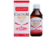 CALCIUM HASCO SMAK TRUSKAWKOWY 150 ml syrop