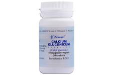 CALCIUM GLUCONICUM 50 tabletek