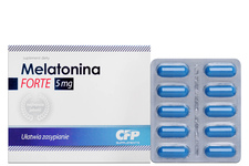 MELATONINA FORTE 5 mg 30 kapsułek