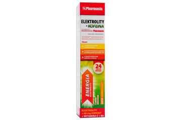 ELEKTROLITY + KOFEINA 24 tabletki musujące