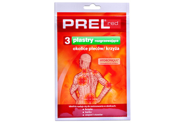 PREL RED 3 plastry
