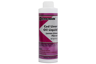 COD LIVER OIL LIQUID LEMON LIME FLAVOR (TRAN) 237 ml