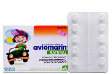 AVIOMARIN NATURAL 10 tabletek