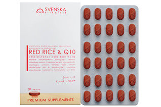 RED RICE & Q10 60 tabletek