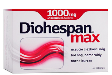 DIOHESPAN MAX 60 tabletek